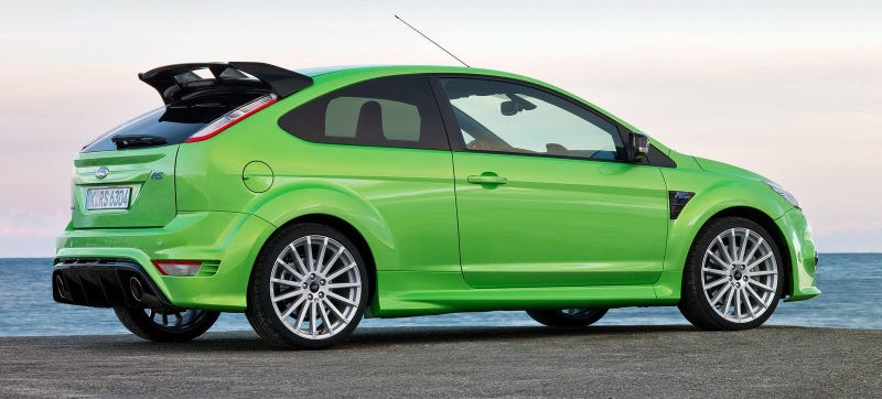 Illustration for article titled IT'S HAPPENING: Ford CEO Confirms The Focus RS Is Coming To America