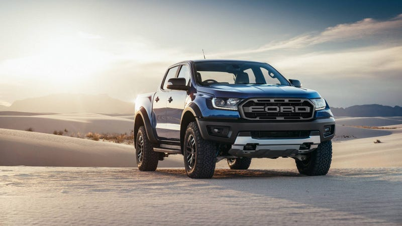 Illustration for article titled The 2019 Ford Ranger Raptor Isn't Coming to the U.S.: Report [UPDATE]