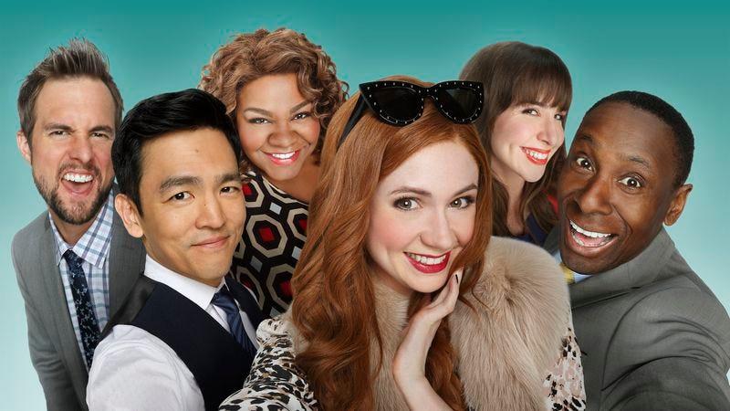 The cast of ABC's Selfie (Photo: ABC)