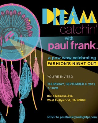 Illustration for article titled Paul Frank Celebrated Fashion Week With a Racist, Native American-Themed Dream Catchin' Extravaganza