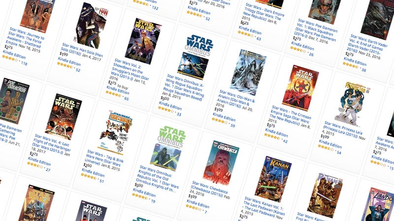 Up to 77% off Star Wars Comics | Amazon