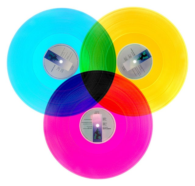 These Records Are Quite Colorful