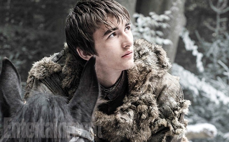 Illustration for article titled Here's Our First Look at Bran Stark in Game of Thrones Season Six