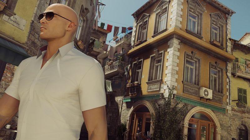Screenshot: Hitman/Square Enix