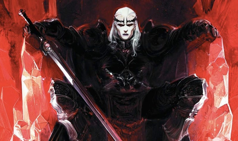 michael moorcock reveals why this elric comic is superior. Black Bedroom Furniture Sets. Home Design Ideas