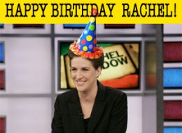Illustration for article titled Happy Birthday, Rachel Maddow!