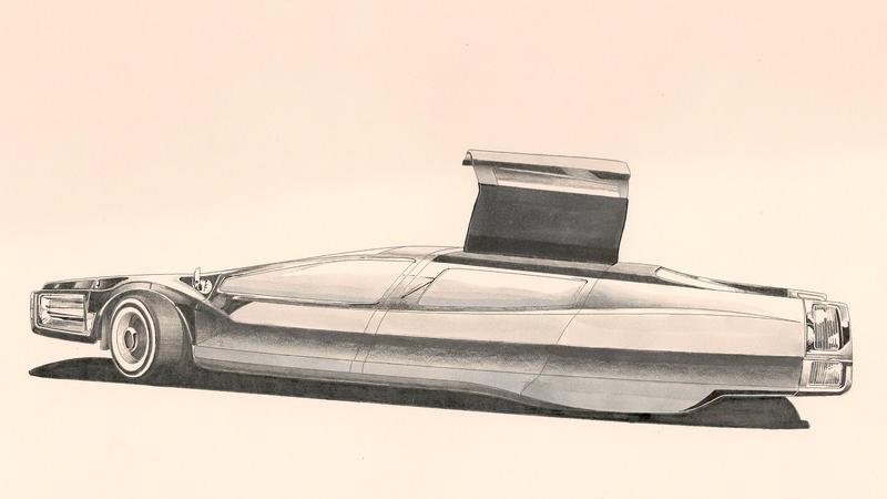 Illustration for article titled Syd Mead: Sketched, Pt. 2