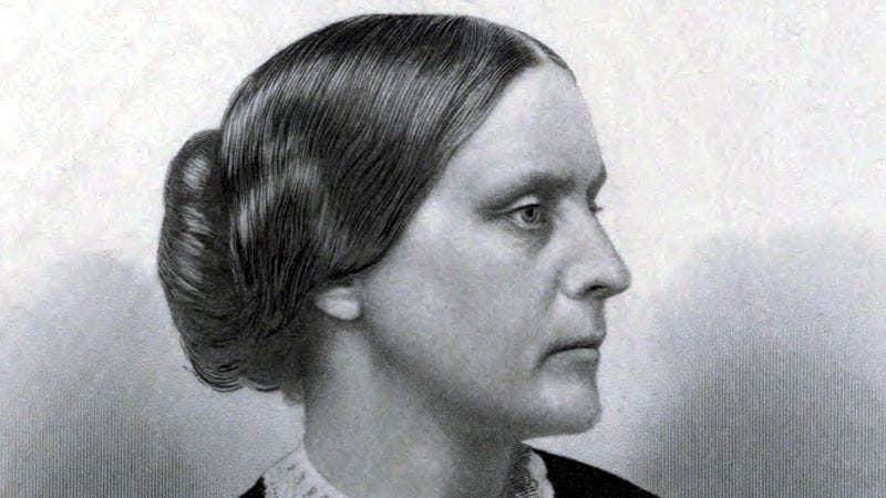 Susan B. Anthony in 1881 (Image: Public domain)