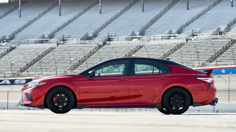 Illustration for article titled Apparently the Camry TRD is pretty legit
