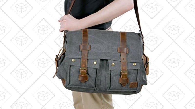 Lifewit Men's Messenger Bag | $33 | Amazon | Promo code 6UNWVTQP