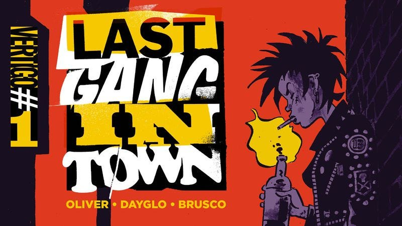 Illustration for article titled Exclusive Vertigo preview: Last Gang In Town revives England's revolutionary spirit