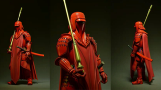 Illustration for article titled Bandai's Samurai Star WarsToys Get Royal Guards, Boba Fett, And Drums