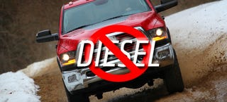 Illustration for article titled Why Ram's Biggest, Baddest Off-Road Pickup Won't Get A Diesel Engine