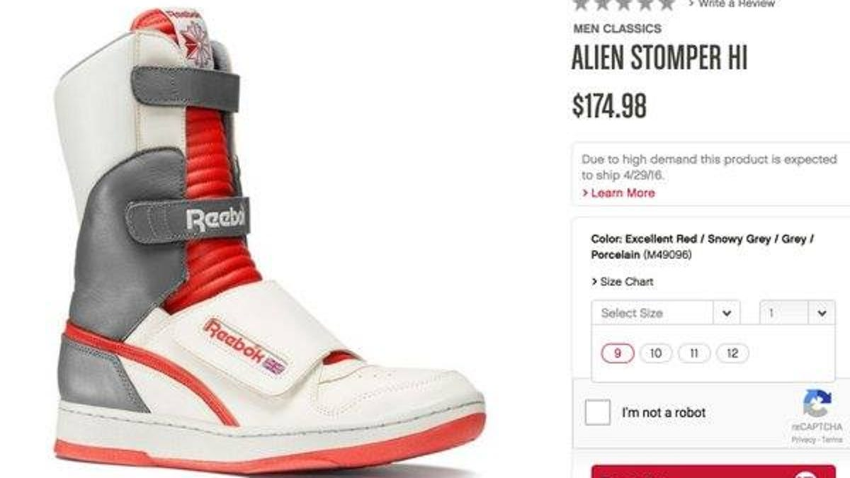 ccfdc31f65c8 UPDATED  Reebok celebrates Ellen Ripley by selling her shoes in men s sizes  only