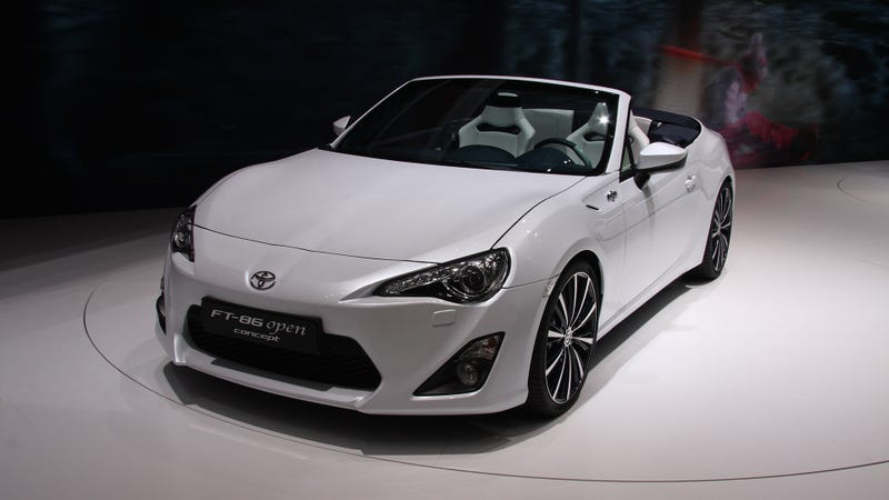 Illustration for article titled This Is The Scion FR-S Cabrio In The Flesh