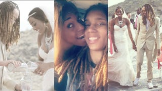 Illustration for article titled Brittney Griner, Glory Johnson-Griner Announce New Baby On the Way