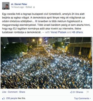 Illustration for article titled Dániel Péter szerint Hongkong itt van Budapesten