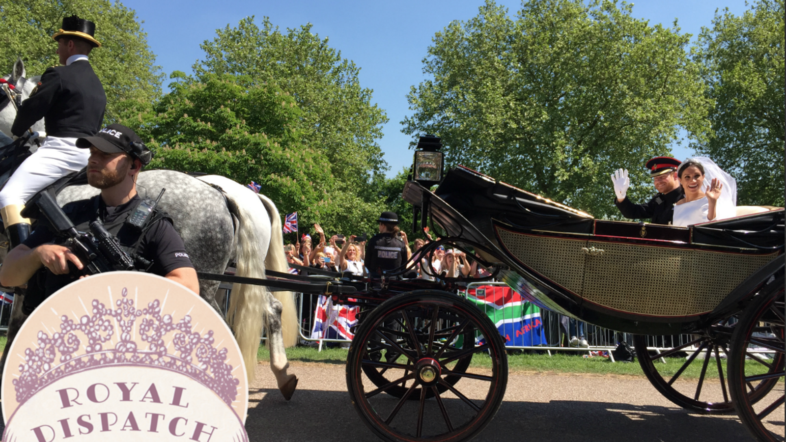I Camped Out Overnight for This Photo of Harry and Meghan and I Regret Nothing