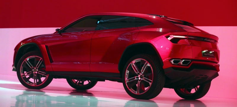 Illustration for article titled The Lamborghini Urus SUV Could Come From Slovakia