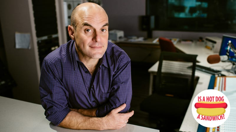 Illustration for article titled Hey Peter Sagal, is a hot dog a sandwich?