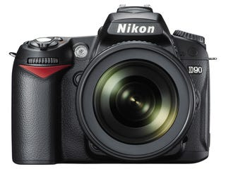Illustration for article titled Nikon D90 Official: First DSLR Ever With HD Video Recording