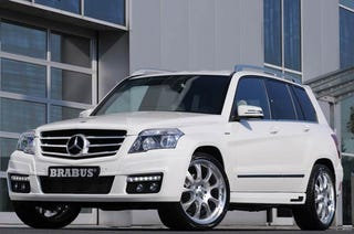 Illustration for article titled BRABUS Mercedes GLK Proves You Can't Have Too Much Of A Bland Thing