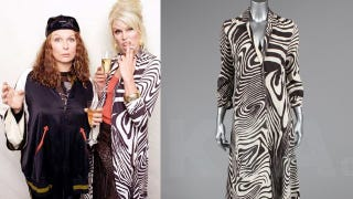Illustration for article titled Now You Can Dress Like Patsy: Joanna Lumley to Auction Off 'Absolutely Fabulous' Costumes