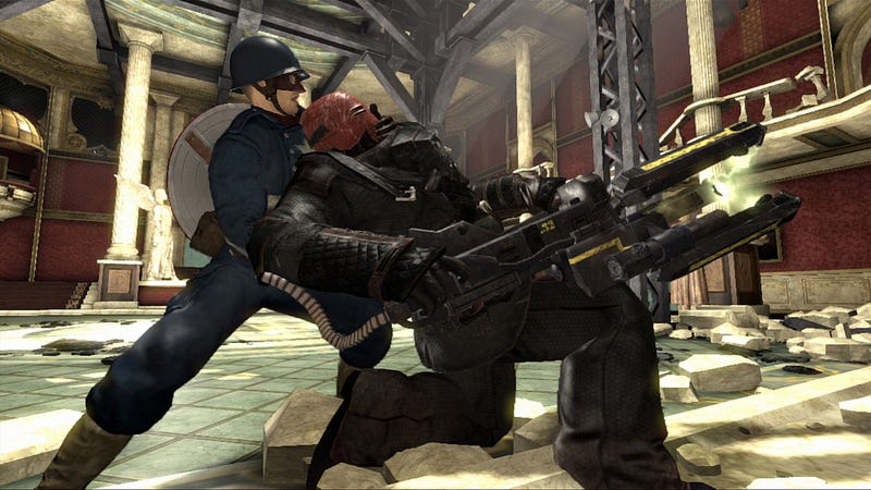 Illustration for article titled The Ultimate Version of Captain America: Super Soldier Comes from GameStop