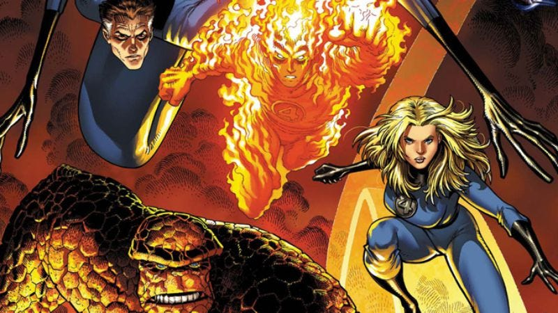Illustration for article titled Marvel kills off one of the Fantastic Four