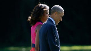 First lady Michelle Obama and President Barack ObamaWin McNamee/Getty Images