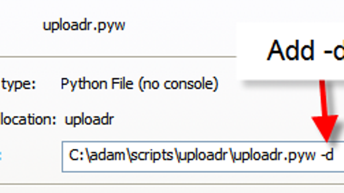 Automatically upload a folder's photos to Flickr