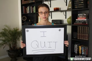 Illustration for article titled Woman Quits Her Job, Becomes A Hero