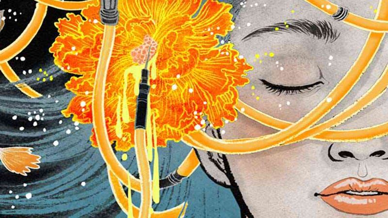 Illustration for article titled Yuko Shimizu's art is like a cooler version of your wildest dreams