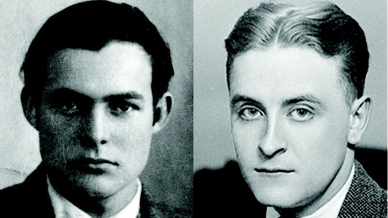 Illustration for article titled Amazing: Check Out These Letters Between Ernest Hemingway And F. Scott Fitzgerald