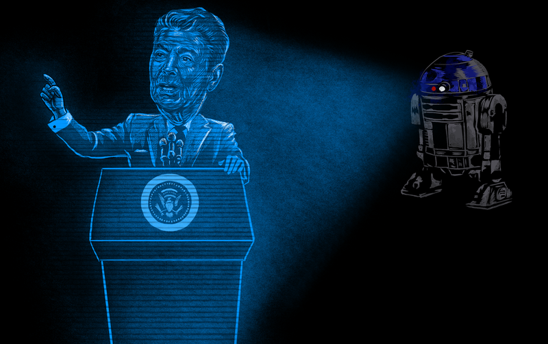Illustration for article titled How Star Wars Helped Create President Reagan