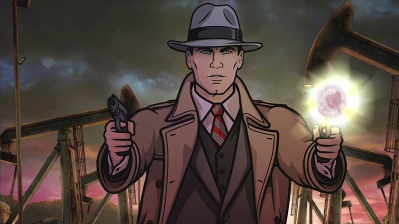Illustration for article titled ArcherGoes Full-On Noir in the First Trailer for Season Eight
