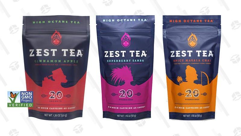Zest Tea 20-Pack (Multiple Flavors) | Amazon | Clip coupon on page