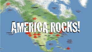 Illustration for article titled Earthquakes Shake Entire United States (Updated)
