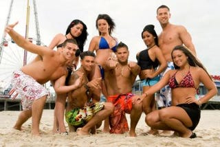 Cast of MTV's Jersey Shore