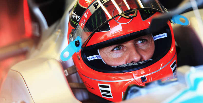Seven-time Formula One champion Michael Schumacher at the Hungarian Grand Prix in 2010. Photo credit: Mark Thompson/Getty Images