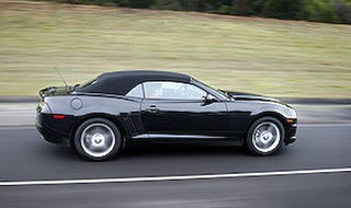 Illustration for article titled Chevy Camaro Convertible Coming Q2 2011