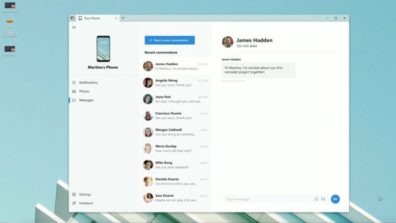 iMessage for Windows Would Be Sick