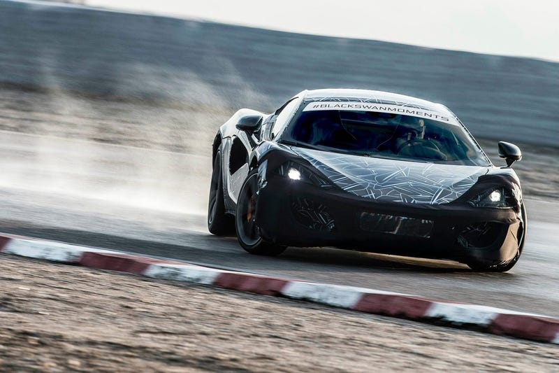 Illustration for article titled McLaren Goes Drifting For Yet Another Sports Series Teaser Shot