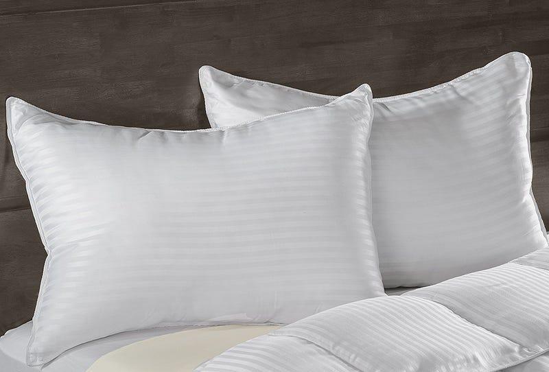 Superior White Down Alternative Pillows Gold Box