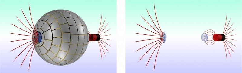 Illustration for article titled The Very First Wormhole Device — For Magnets!