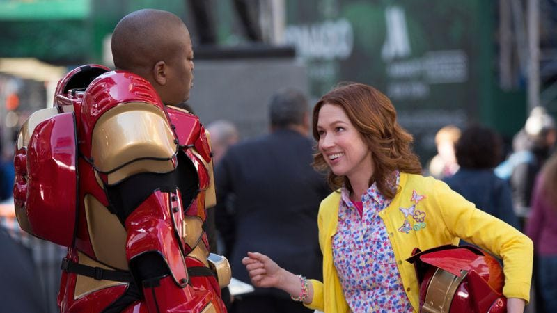 """Illustration for article titled Unbreakable Kimmy Schmidt: """"Kimmy Goes Outside!"""""""