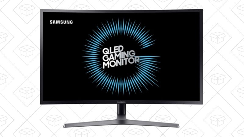 "Refurb Samsung QLED 32"" Curved Gaming Monitor 