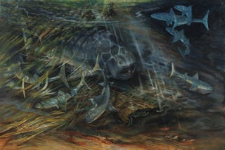 Illustration for article titled Invasive species destroyed biodiversity and triggered Earth's worst extinction event