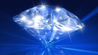 Illustration for article titled Fluffy diamonds could be a completely new form of carbon