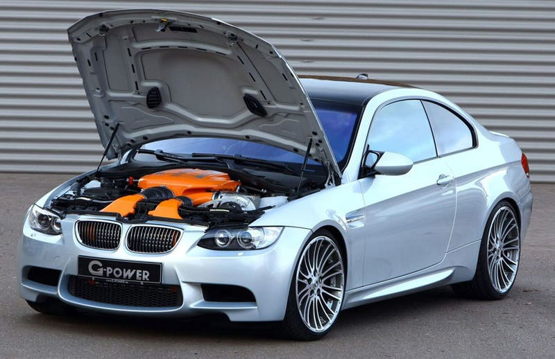 Illustration for article titled G-POWER BMW M3: 500 HP, 200 MPH, Orange!